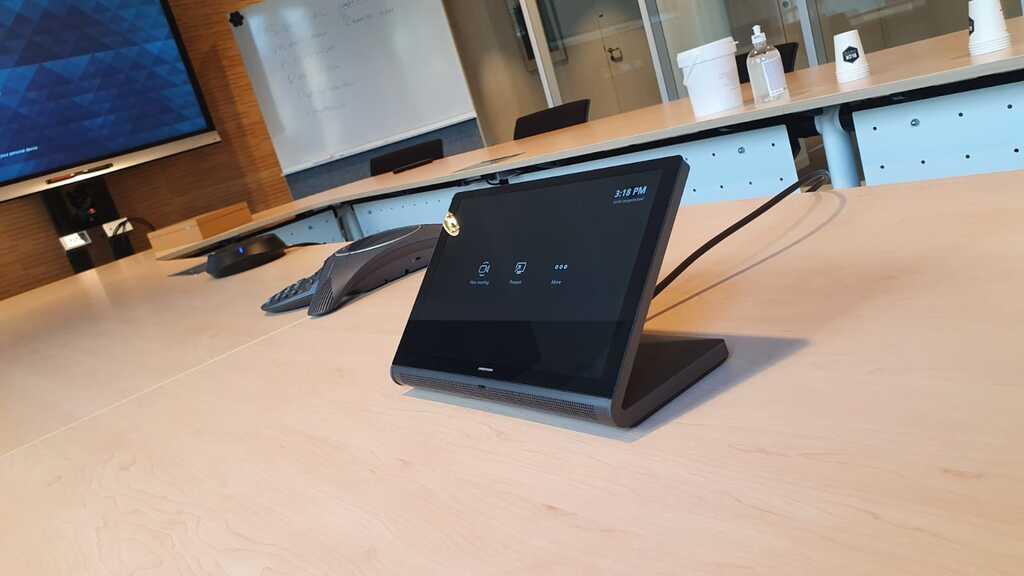 Crestron Flex toegepast bij een van onze klanten